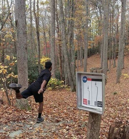 Athelete Autumn Autumn Colors Discgolf Discgolf Player DiscGolfCourse Discgolfholes Trees