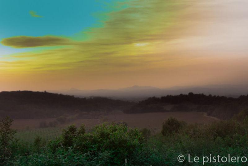 Eye Em Best Shots Landscape_Collection Beautiful View Clouds And Sky paysage superbe du côté de Saint Paul et Valmalle .Vallée de Clermont l ' Hérault ...France