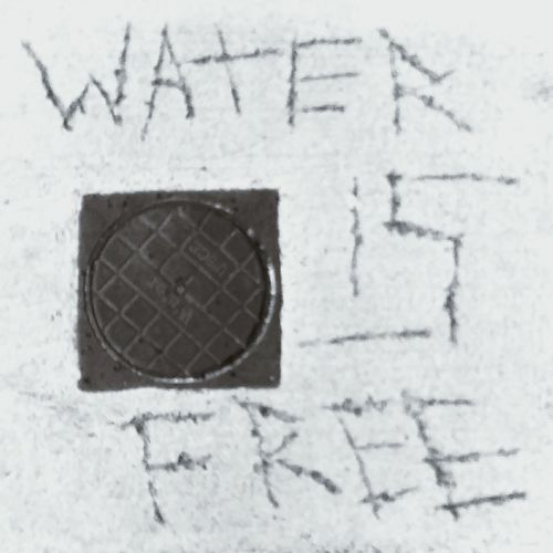 Ireland Watercharges Water Is Life Water Is Free Blur Blurry Unclear Statement Blackandwhite