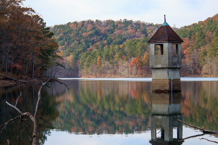 Berry Berry College Lake Reflection Standing Water Tree Water