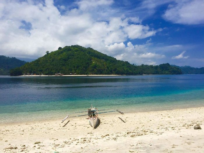 Finding New Frontiers Ballet Island @kalamansig Sultan kudarat. Beach Sea Water Cloud - Sky Nature Sand Vacations Beauty In Nature Tree Outdoors