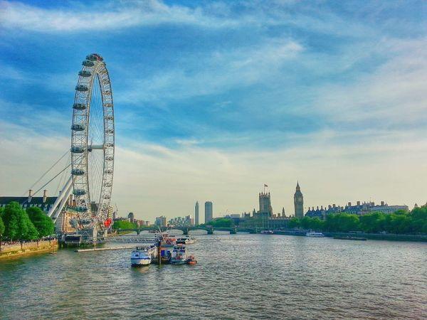 London eye n big Ben