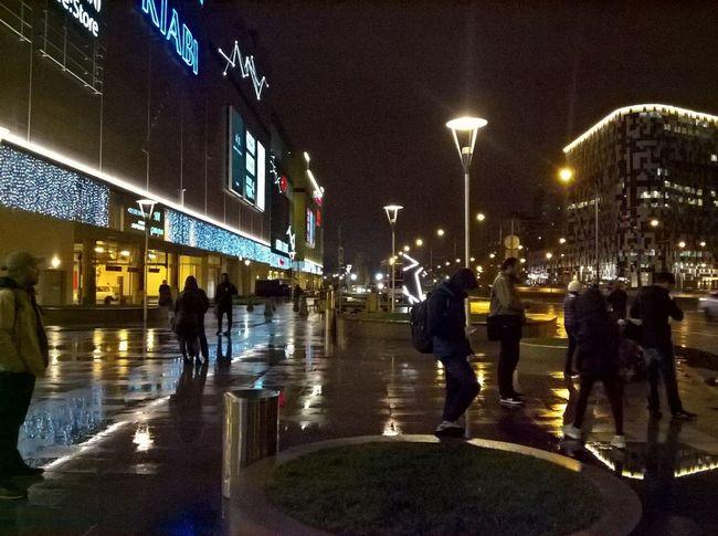 Aviapark First Eyeem Photo Night City City Life Moscow City City Night Life