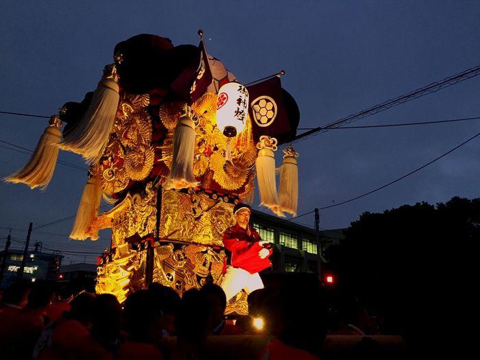 新居浜 太鼓祭り