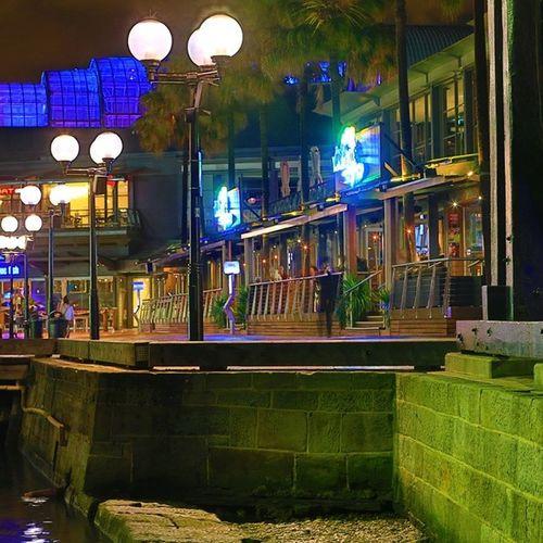 Under the Darling Harbour Bridge Sydney Australia Aussiephotos Iampangean Travel Travelgram Night Newsouthwales
