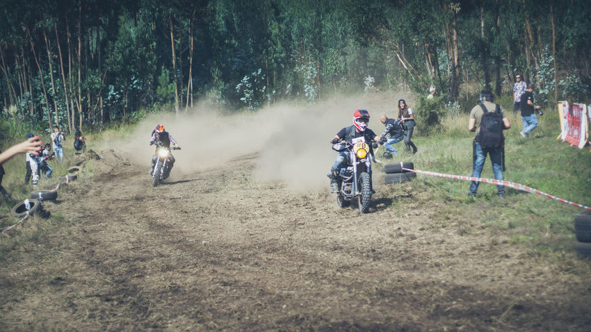 Adult Adults Only Adventure Challenge Competition Day Dusty Track Extreme Sports Men Motion Moto Motorbike Motorcycle Motorcycles Nasmgraphia One Person Only Men Outdoors People Real People Skill  Sport Sports Race Sportsman Tree