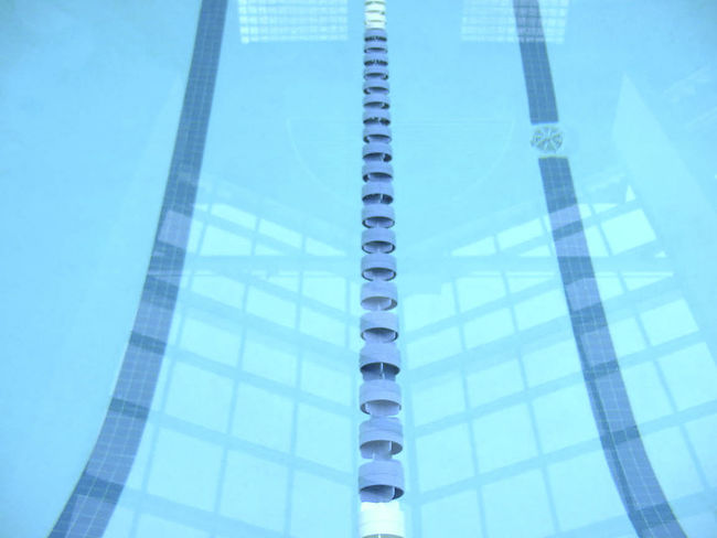 Stay in your lane. (Royal Sonesta Hotel) Swimming Pool Poolside Swimming Pool Photography Boston Artist Art Blue Wave JohnRuggieri