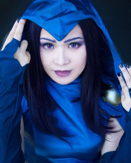 Awesome Anoriel (insta: @An0riel) as Raven from Teentitans Cosplay Cosplayphotography Teentitans Raven Young Women Portrait Beautiful Woman Beauty Beautiful People Blue Looking At Camera Women Close-up First Eyeem Photo