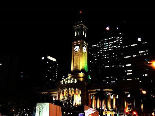 I Love my City even more at Night Kinggeorgesquare , Brisbanecity , Lowlightphotography