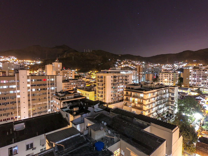Building Exterior Architecture City Built Structure Building Cityscape Illuminated Residential District No People Nature Night Town Mountain Neighborhood Location Place Outdoors High Angle View Sky Modern
