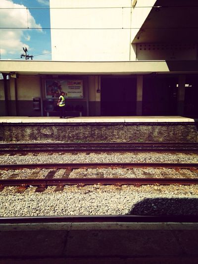 Sao Paulo - Brazil Urban Reflections Train Station Wating