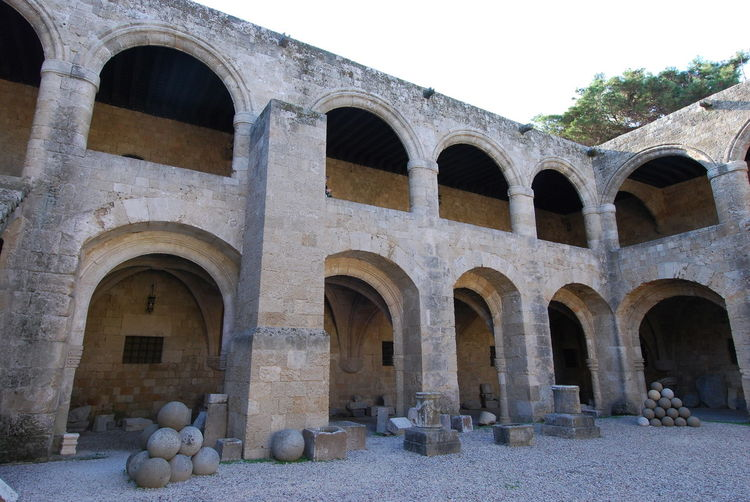 Ancient Ancient Civilization Arch Architecture Courtyard  Day History No People Outdoors Spirituality Travel Destinations