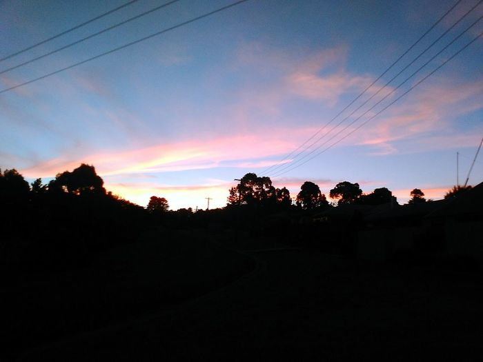 Moment of peace Sunset EyeEm Selects Silhouette Sky Streetphotography Dusk Blue Sky Rainbow Colors Photography EyeEmNewHere Colour Your Horizn