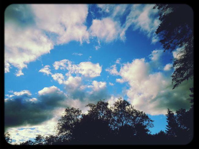 Sky And Clouds Taking Photos Enjoying Life