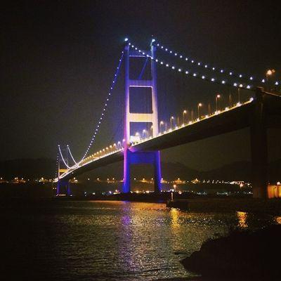 青馬大橋  青衣  馬灣  娜亞方舟 香港 TsingMaBridge TsingMa Bridge TsingYi MaWan Noah Ark HongKong HK