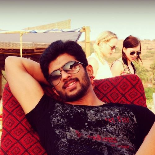 At Mandrem Beach.. Lost in Dreams ;) Hanging Out Taking Photos Enjoying The Sun Life Is A Beach