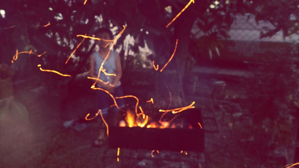 Firecamp Fire Flares Barbecue