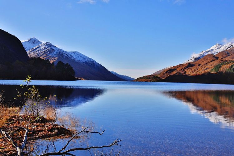 Loch Shiel, Scotland. View from the Glenfinnan Monument Peace And Quiet Beautiful Day Taking Photos Lake View