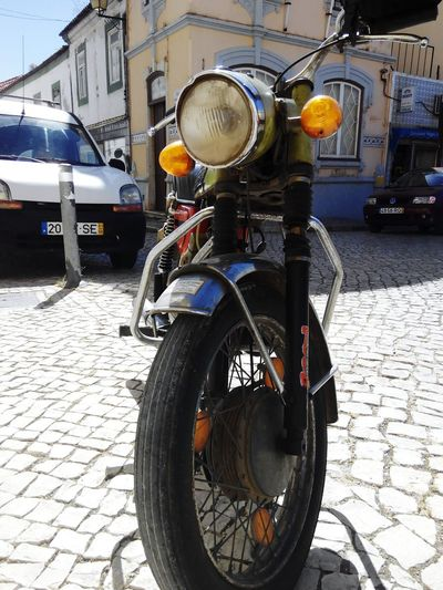 Transportation Mode Of Transport Land Vehicle Street Stationary Day No People Bicycle Motorcycle Outdoors Close-up Old Motorcycles Retro Motocycle Motorcycles Motorcycle Photography Motorcyclist Motorcycle Trip Motorcyclelifestyle Motorcycling Motorcyclemafia Motorcycle Lover Portugal Masal Old Motorcycle Road