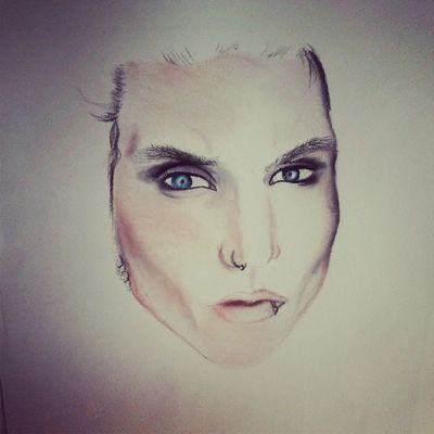 Not finished yet! Drawing Art Portrait Face
