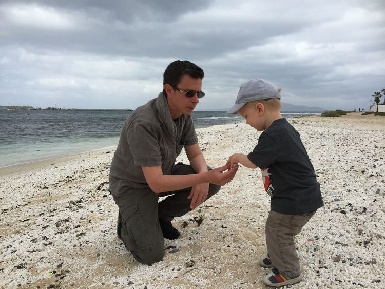 RePicture Masculinity Learning Beach Seaside