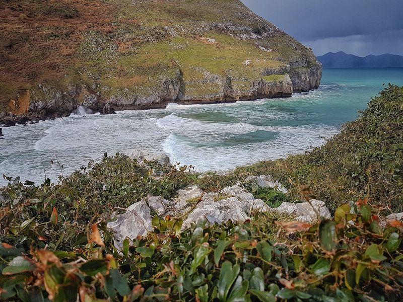 Sonabia Nature Sea Beauty In Nature Movilgrafias SPAIN Movilefotografy Castro Urdiales (Cantabria) Cantabriainfinita Horizon Over Water Costa