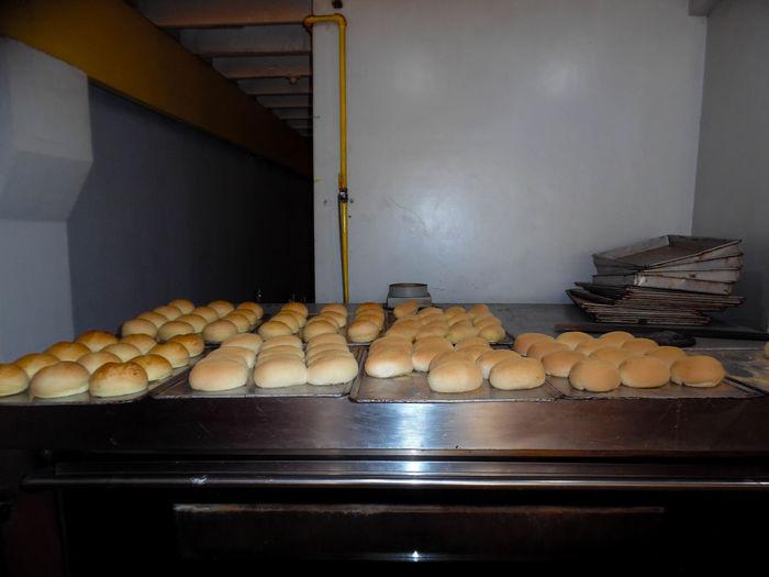 Pandesal bread,