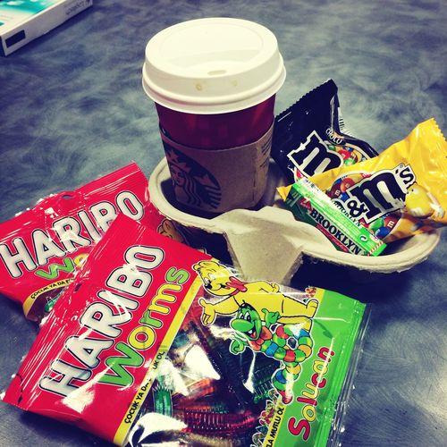 Haribo M&m Starbucks Sbux Broklyne  Gum ❤ Followme Hello World