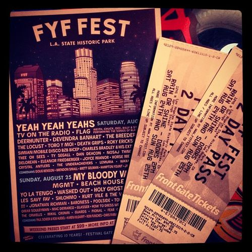 4 days...til I start my Bday Funness at Fyf  with my Bff ????☀??