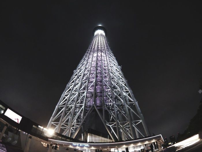 GoProhero6 Tokyo Sky Tree City Illuminated Cityscape Modern Architecture Built Structure The Architect - 2018 EyeEm Awards The Traveler - 2018 EyeEm Awards