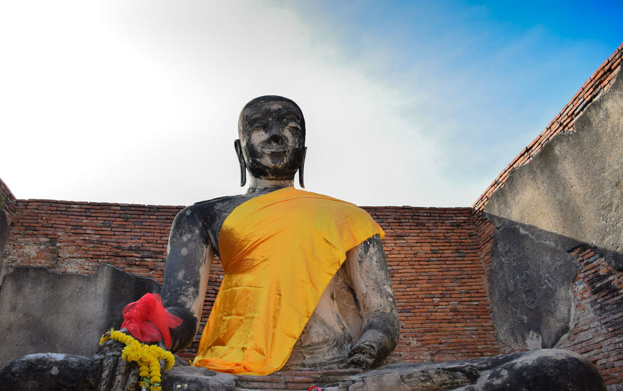 Ancient City Ancient Structure Ayutthaya Buddha Buddha Statue Buddhism Holiday Outdoors Thailand