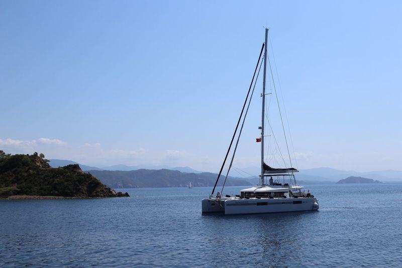 Boattrip Boat Göcek Water Sky Day Nature Sea Beauty In Nature Sailboat Idyllic Tranquility
