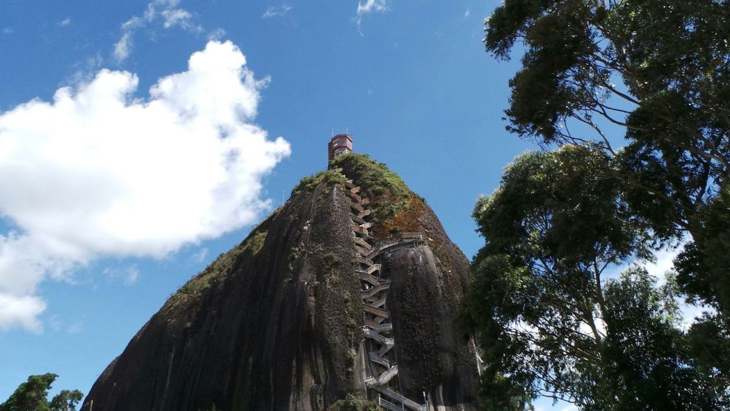 Rock Climbing Traveling Nature_collection Antioquia Elpeñol Colombia Galaxy Camera Enjoying Life Landscape_Collection Farview