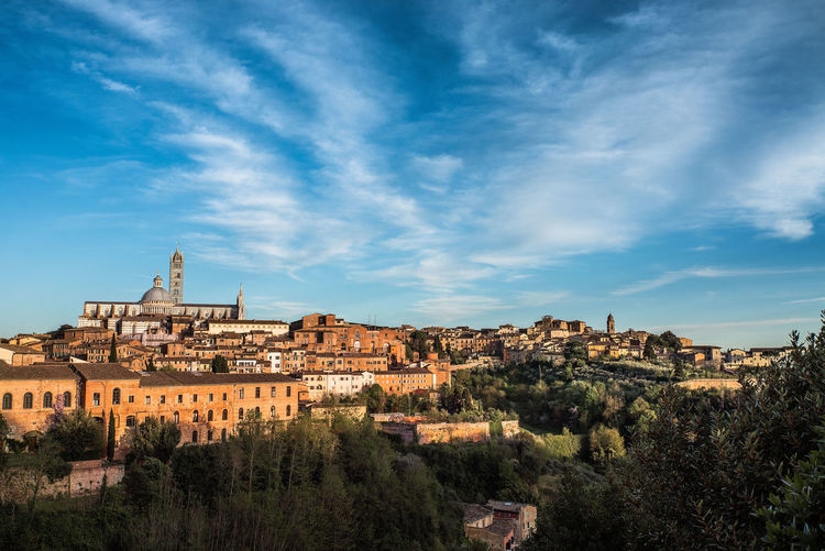 Ancient Architecture Architecture Building Exterior City City Cityscape Cloud - Sky Day Europe Landmarks Nature No People Old Outdoors Palio Romantic Scenics Sky Tourism Travel Travel Destinations Tree Tuscany Winery