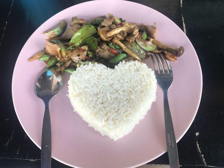อร่อยมาก Plate Food Ready-to-eat Food And Drink Freshness Serving Size Wellbeing