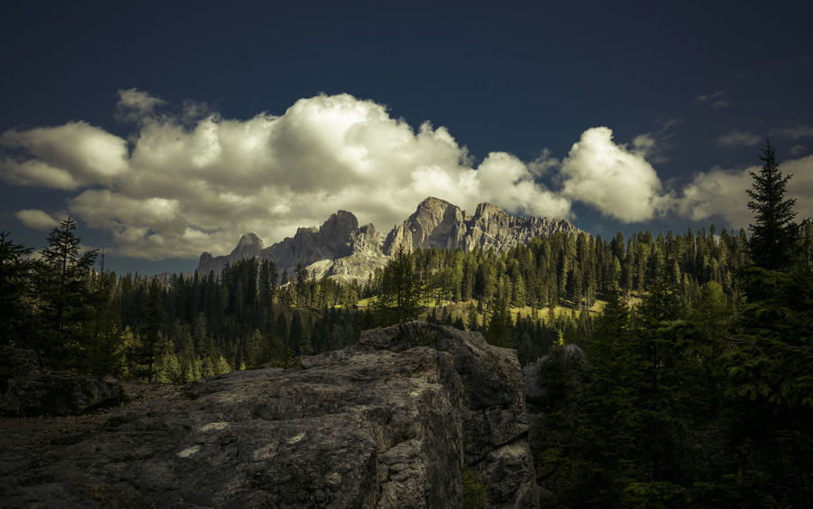 clouds and sun in dolomites Hiking View Weather Beauty In Nature Cloud - Sky Clouds Day Forest Landscape Mountain Nature No People Outdoor Photography Outdoors Rosengarten Scenics Sky South Tyrol Summit Sun Tourism Tranquil Scene Tranquility Tree EyeEmNewHere