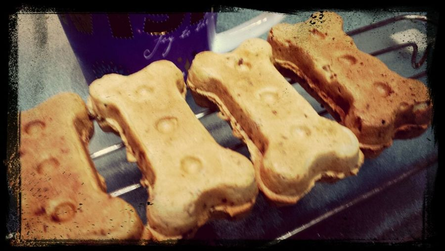 sunday morning coffee and baking dog bones Enjoying Life