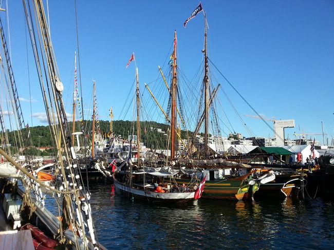 Landsstevne Oslo 2014; båter i Bjorvika @OsloHavn @VisitOslo