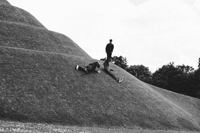 Jupiter Artland Real People Lifestyles One Person Men Leisure Activity Day Domestic Animals Outdoors Mammal Full Length Nature Sky One Man Only Happiness Enjoy The New Normal Travel Adventure