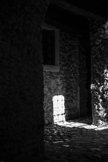 Monte Fusco Avellino Carcere Borbonico BW_photography Bw Architecture Built Structure Building No People Day History Sunlight