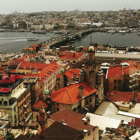 Istanbul Galatatower Traveling View Enjoying Life