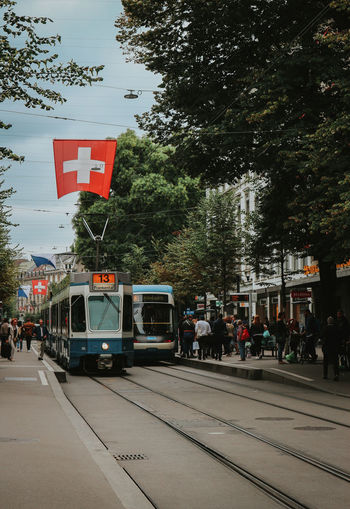 I lost in Zurich. EyeEm Best Shots EyeEm Selects Backgrounds Photography Travel Destinations Travel Travel Photography Backpack Traveling Street Streetphotography The Week on EyeEm Lifestyles City Public Transportation Land Vehicle Sky Tram Tramway Street Scene Tourism