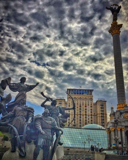 Kiev Taking Photos Aroundtheworld Cultures Piazzamaidan