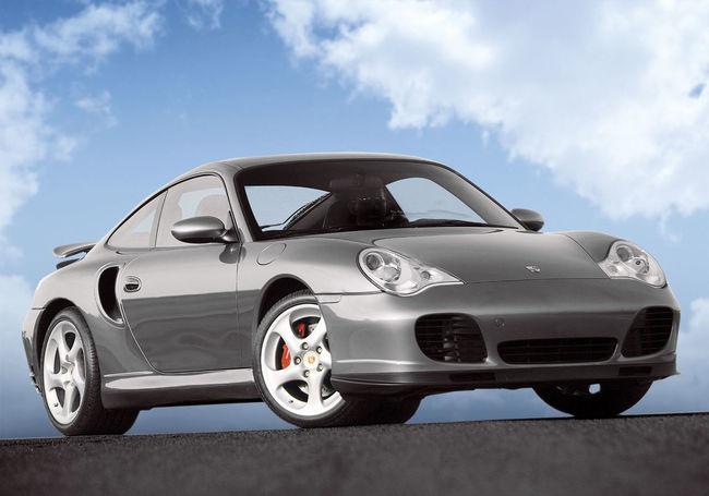 Porsche 911 996 Twin Turbo 911 996 Automotive Brembo Brakes Cloud - Sky Grey Car Porsche Twin Turbo