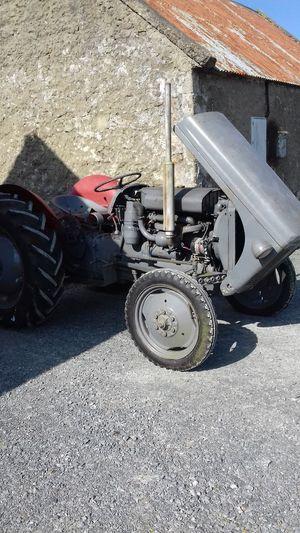 T20 Old Tractor Grey Diesel