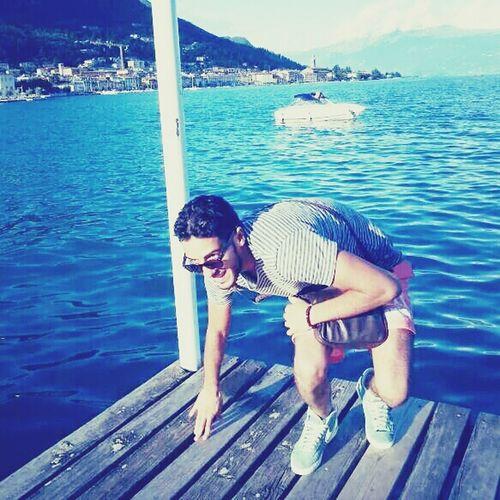 Summer Brescia Lake Italy