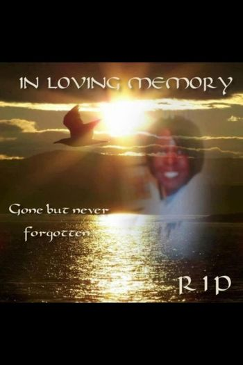 In loving memory of my cousin rest in paradise baby girl❤