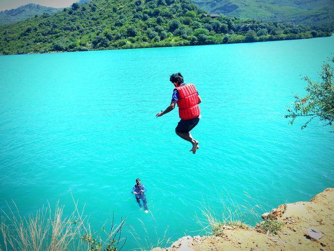 Blue Wave Khanpur Dam Cliff Diving Knbadventures