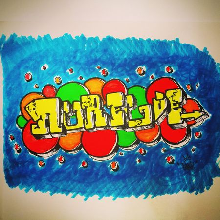 Wall Graffitiwall HuaweiP9 2017 Beautiful Huaweip9photos Creativity France 🇫🇷 TOULOUSE TOWN Streetart Drawing Urban Fs313 Handmade Multi Colored Graff Farfal Eightballstore Graffiti Art Lifestyles Brosh Villerose