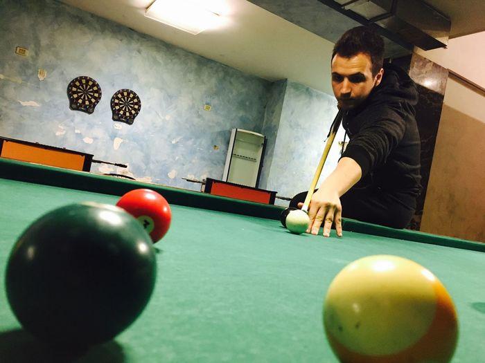 Biliardo Time Pool Ball Sboccio BYOPaper!